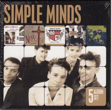 - 5 ALBUM SET 5CD SIMPLE MINDS