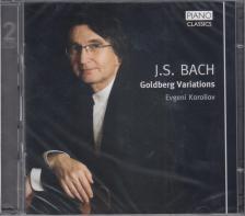 Bach - GOLDBERG VARIATIONS 2CD EVGENI KOROLIOV