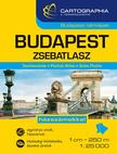 Cartographia Kiadó - Budapest zsebatlasz 1:25 000<!--span style='font-size:10px;'>(G)</span-->