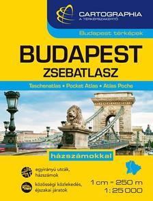 Cartographia Kiadó - Budapest zsebatlasz 1:25 000