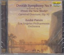 DVORAK - SYMPHONY NO.9 , CARNIVAL OVERTURE OP.92 CD