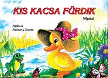 Rajzolta: Radvány Zsuzsa - Kis kacsa fürdik - Leporelló
