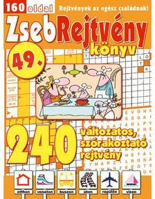 CSOSCH KIADÓ - ZsebRejtvény Könyv 49.