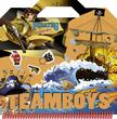 - TEAMBOYS - STICKERS - Kalóz