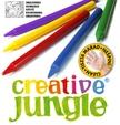 CFA2740 - CREATIVE JUNGLE PLASTIC 12-ES ZSÍRKRÉTA