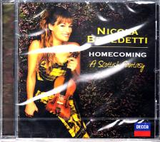 - HOMECOMING - A SCOTTISH FANTASY CD NICOLA BENEDETTI