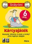BOSNYÁK VIKTÓRIA - Sirály Römi (kártya) + rejtvényfüzet<!--span style='font-size:10px;'>(G)</span-->