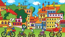 Bartos Erika - Biciklitúra a Pipitér-szigetre