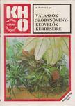 DR. KOMISZÁR LAJOS - Válaszok szobanövény-kedvelők kérdéseire [antikvár]