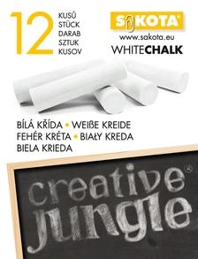 CJB2267 - CREATIVE JUNGLE FEHÉR 12-ES TÁBLAKRÉTA