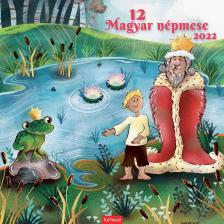 K5T0098-012 - 12 MAGYAR NÉPMESE - Lemeznaptár