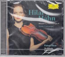 MOZART, VIEUXTEMPS - VIOLIN CONCERTOS CD HILARY HAHN