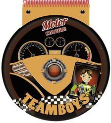 - TEAMBOYS - STENCIL - Motorversenyző