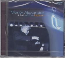 LIVE AT THE IRIDIUM CD MONTY ALEXANDER