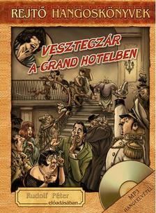 REJTŐ JENŐ - VESZTEGZÁR A GRAND HOTELBEN - HANGOSKÖNYV, KÖNYVMELLÉKLETTEL