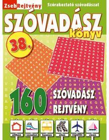 CSOSCH KIADÓ - ZsebRejtvény SZÓVADÁSZ Könyv 38.