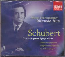 SCHUBERT - THE COMPLETE SYMPHONIES 4CD RICCARDO MUTI