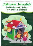 Dr. Szabóné Zavaczki Andrea-Zavaczki Gabriella - Játszva tanulok - betűelemek, jelek 5-7 évesek számára<!--span style='font-size:10px;'>(G)</span-->