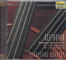 BEETHOVEN, L.VAN - STRING QUARTETS OP.132, OP.135 CD