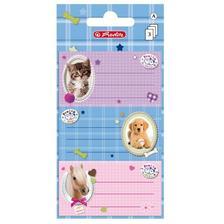 10917326 - Iskolai etikett/9 db Pretty Pets