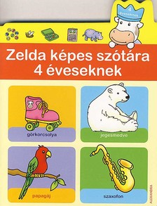 ZELDA KÉPES SZÓTÁRA 4 ÉVESEKNEK