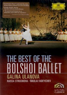 ADAM,GLINKA,ASAFIEV - THE BEST OF THE BOLSHOI BALLET DVD