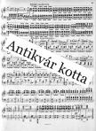 Chopin - FANTASIE -IMPROMTU FÜR KLAVIER, ANTIKVÁR PÉLDÁNY