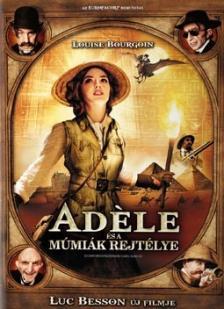 Luc Besson - ADÉLE ÉS A MÚMIÁK REJTÉLYE DVD BOURGOIN,AMALRIC,LELLOUCHE,ROUVE