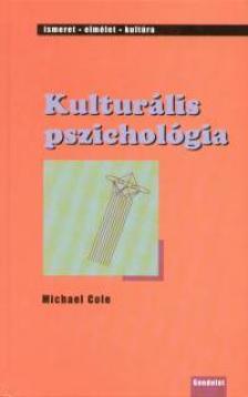 Michael Coleman - KULTURÁLIS PSZICHOLÓGIA