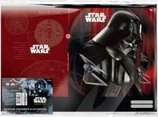 13104 - Füzetborító képes A/4 10 db/cs Star Wars Rogue One Vader 17498318