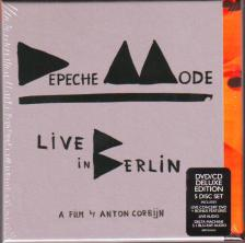 ANTON CORBIJN/DEPECHE MODE - DEPECHE MODE LIVE IN BERLIN  5 DISC SET DELUXE EDITION