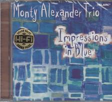 IMPRESSIONS IN BLUE CD MONTY ALEXANDER