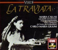 Verdi - LA TRAVIATA 2CD GIULINI, CALLAS, DI STEFANO, BASTIANINI