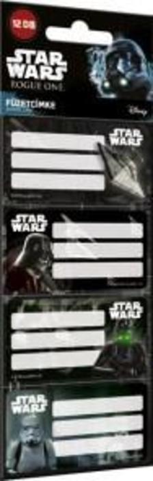 12382 - Füzetcímke 12 db-os Star Wars Rogue One Mix 17498711