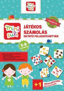 - Mini Suli Játékos Számolás - feladatlap - 5-8 éveseknek