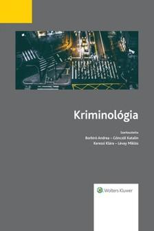 (szerk.) Borbíró Andrea - Gönczöl Katalin- Kerezsi Klára - Lévay Miklós - Kriminológia  [eKönyv: epub, mobi]