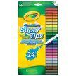 .- - 24 db Crayola kimosható vékony filctoll