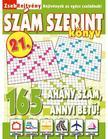 CSOSCH KIADÓ - ZsebRejtvény SZÁM SZERINT Könyv 21.<!--span style='font-size:10px;'>(G)</span-->