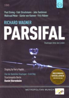 Wagner - PARSIFAL 3DVD POUL ELMING, FALK STRUCKMANN, WALTRUD MEIER, BARENBOIM