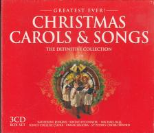 - CHRISTMAS CAROLS & SONGS 3CD