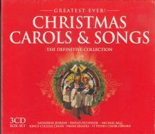 CHRISTMAS CAROLS & SONGS 3CD