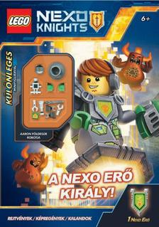 - LEGO Nexo Knights - A Nexo erő király -Különleges földesúr robot minifigurával!