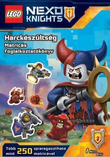 - LEGO Nexo Knights - Harckészültség - Matricás foglalkoztatókönyv