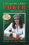 Chiapelli Larry - Chiapelli's Live Poker Strategies [eKönyv: epub,  mobi]
