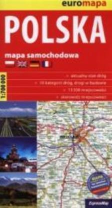 Expressmap - Lengyelország térkép 2015 (Expressmap) zsugoros