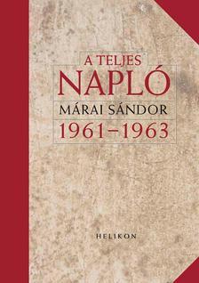 - A teljes napló 1961-1963