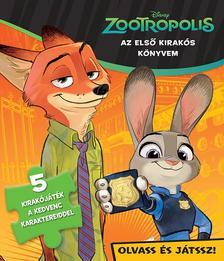 - - Disney - Szivacsos kirakókönyv - Zootropolis