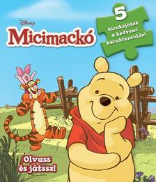 - - Disney - Szivacsos kirakókönyv - Micimackó