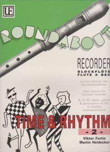 FORTIN-HEIDECKER - TIME AND RHYTHM - 2 - EASY PIECES FOR DESCANT RECORDER