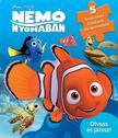 .- - Disney - Szivacsos kirakókönyv - Némó nyomában<!--span style='font-size:10px;'>(G)</span-->